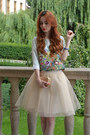Aquamarine-banggood-top-cream-mosquito-skirt
