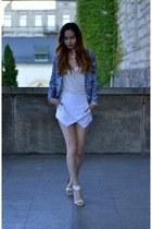 white BangGood shorts