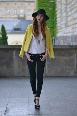 yellow DressLink blazer - black Cheap Monday jeans