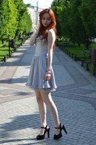 silver second hand dress