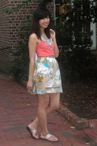 American Eagle shirt - Anthropologie accessories - Odille skirt - She shoes - JC