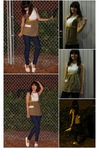 H&M top - BDG jeans - Geox shoes