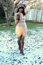Brown-anthropologie-hat-beige-rodarte-for-target-dress-gray-anthropologie-ti
