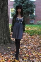 American Apparel hat - H&M dress - Forever 21 necklace - American Apparel socks