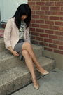 Pink-juicy-couture-blazer-white-girls-from-savoy-blouse-gray-banana-republic