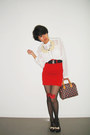 Black-heart-diy-stockings-brick-red-lv-bag-red-high-waisted-f21-skirt