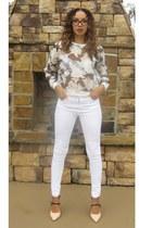Fashion Union sweater - asoscom jeans - Shoedazzle heels