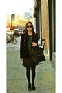 Jcrew-top-zara-skirt-theory-jacket-vintage-from-italy-shoes-celine-bag-