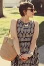 Thrifted-shoes-eshakti-dress-h-m-sunglasses