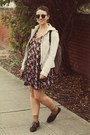 Forever-21-shoes-thrifted-dress-the-gap-jacket-yes-walker-bag