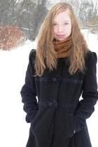 black Orsay coat