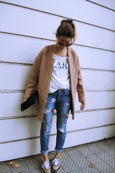 Misslittletouch sunglasses - PERSUNMALL jeans - sammydress blazer