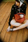 Black-forever-21-sweater-red-forever-21-purse-silver-forever21-shoes