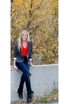Target blouse - Urban Outfitters blazer - Urban Outfitters jeans - Urban Outfitt