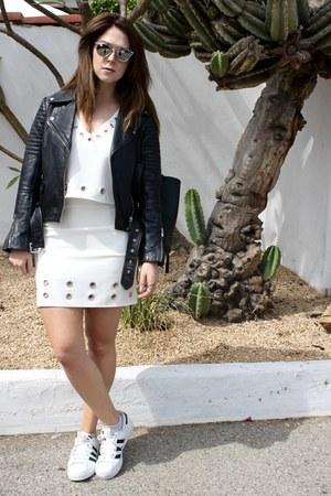 white Forever 21 skirt