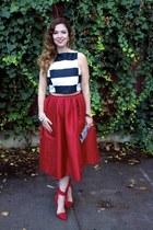 red Chicwish skirt