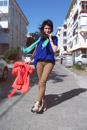 COS pants - Topshop heels