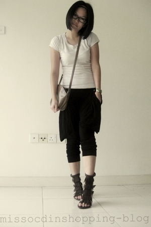 hat yai shirt - Miss OCD pants - Etoffe shoes - Acouplebirds accessories - Miss