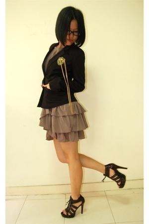 Miss OCD blazer - Miss OCD dress - shoes