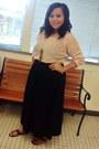 Cotton-skirt-sweater