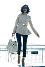 Beige-misspouty-jacket-off-white-flap-miu-miu-bag