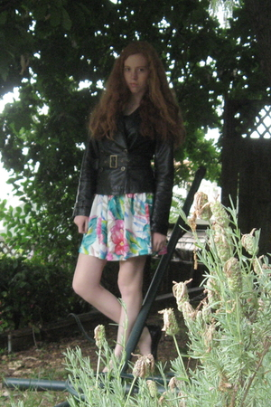 Forever21 jacket - DKNY shoes