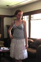 H&M top - Gap skirt