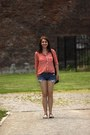 Unknown-brand-bag-unknown-brand-shorts-red-stradivarius-blouse-c-a-sandals