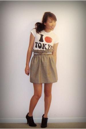 Forever 21 shirt - DIY skirt - shoes - Hot Topic belt