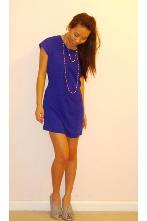 BCBG dress - Qupid shoes - forever 21 leggings