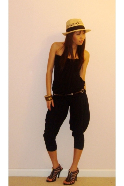Wetseal top - f21 pants - belt - Glaze shoes - Target hat