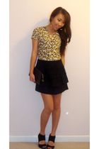Arden B shirt - forever 21 skirt - Louis Vuitton purse - Steve Madden shoes