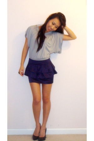 forever 21 shirt - BCBG skirt - Steve Madden shoes