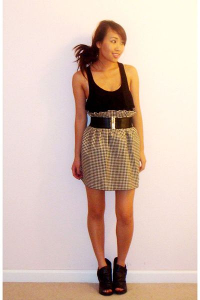 Forever 21 top - DIY skirt - Madden Girl shoes