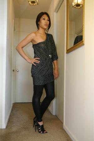 Bakers earrings - s-twelve sweater - leggings - Charlotte Russe shoes - accessor