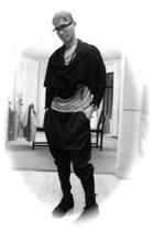PAM diy - Bson shirt - DIY pants - Number Nine boots - Number Nine scarf