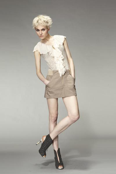 beige IAIZO dress