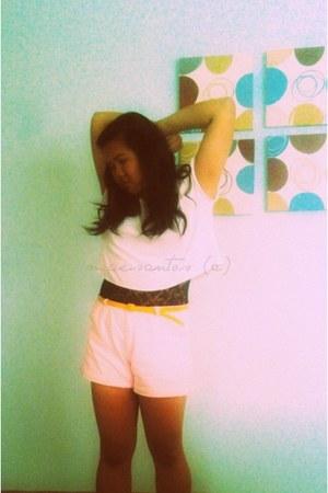 bubble gum vintage shorts