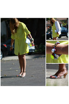 Zara sandals - Old Navy dress - Juicy Couture bracelet