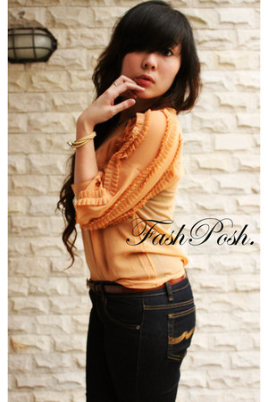 FASHPOSH top - Nudie jeans - unbranded belt