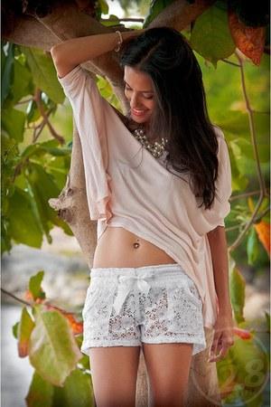 F5 shorts - F5 blouse