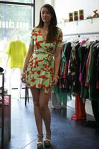 wrap Diane Von Furstenberg dress