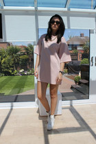 Primark necklace - Topshop shoes - Missguided dress - ray-ban sunglasses