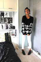Dorothy Perkins jumper - River Island boots - Miss Selfridge jeans
