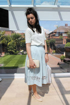 Dorothy Perkins skirt - Accessorize bag - River Island top