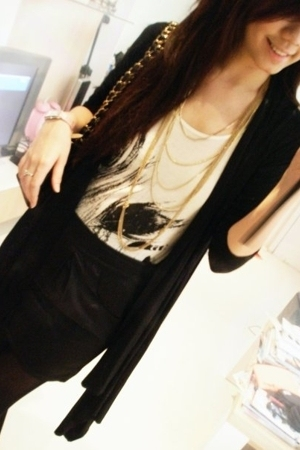 Forever21 - Miss Selfridges top - Forever21 skirt - Forever21 necklace - Forever