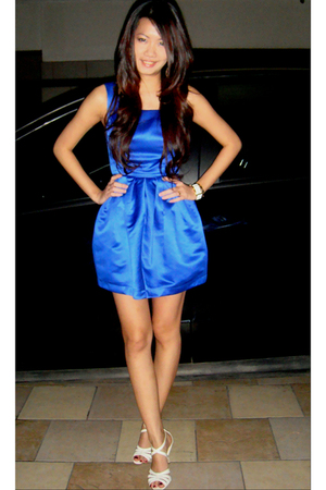 Topshop dress - Charles & Keith shoes