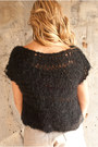 Black-toms-shoes-black-meg-knits-sweater-beige-high-waisted-american-apparel