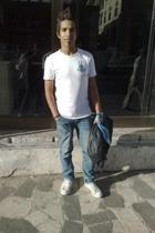 Lee Cooper t-shirt - Bossini jeans - Converse shoes - Bossini jacket