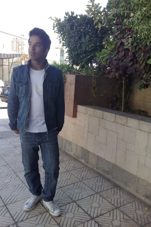 Bossini jacket - Lee Cooper t-shirt - YiSHiON jeans - Converse shoes